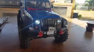 Super cheap redcat everest 10 convert to trail truck (stock chassis)
