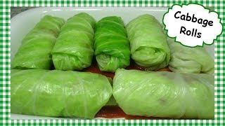 Cabbage Rolls Recipe ~ Easy Stuffed Cabbage Roll ~ How to Make Golabki
