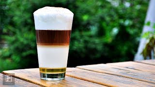 How To Make Melange Coffee At Home | Specialty Coffee Drinks  #2