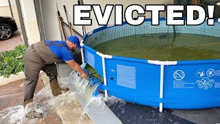 OFFICIALLY EVICTED!! They Made Me DESTROY The FISH POND..