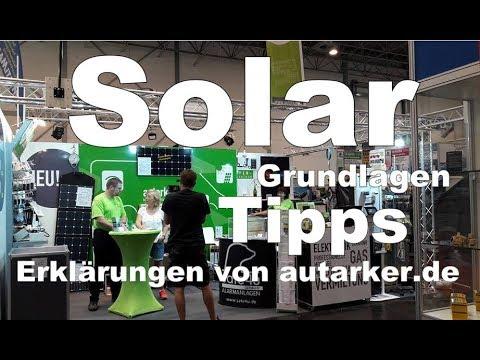 Was muss man bei der Planung von Solar auf dem Wohnmobil alles beachten?