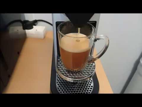 test Krups YY2733FD Nespresso Citiz Espresso Automatique Argent