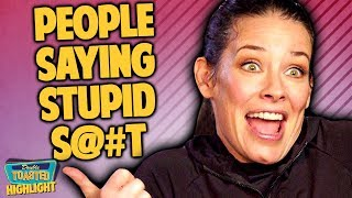 EVANGELINE LILLY MAKES STUPID COMMENTS AND SOPHIE TURNER RESPONDS | Double Toasted