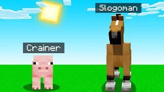 Minecraft BUT We Are ANIMALS! (weird)