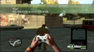 Grand Theft Auto IV Cheat Codes