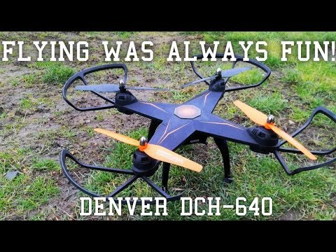 Test Flight - DENVER DCH-640 (Includes shots from built-in camera)