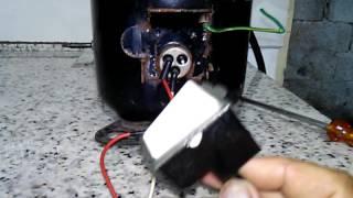 Como ligar compressor de geladeira sem Rele