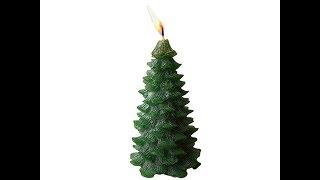 How To Make Christmas Tree Candles