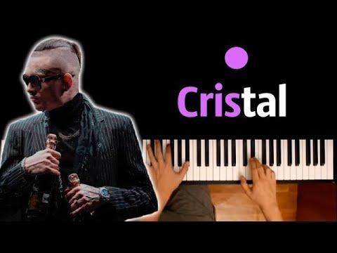 MORGENSHTERN - Cristal & МОЁТ ● караоке | PIANO_KARAOKE ● ᴴᴰ + НОТЫ & MIDI