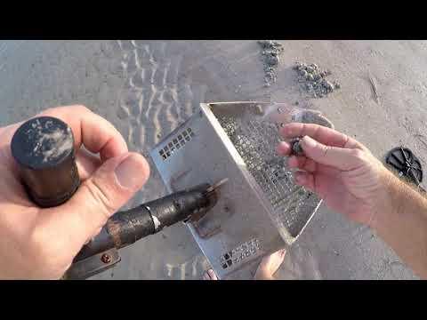Beach Metal Detecting IDD 131 Found Bag Of Cash !