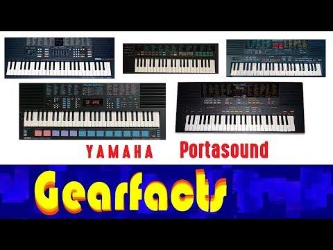 Yamaha Portasound: The amazing evolution of the PSS series