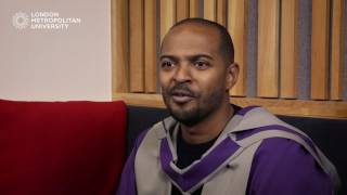 At our winter graduation ceremony we honoured the great Noel Clarke with