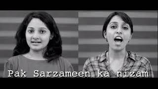 Indian sung Pakistan's national anthem