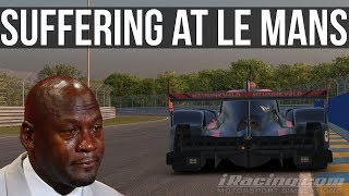 iRacing - Getting Bent Over By Porsches | iLMS Le Mans