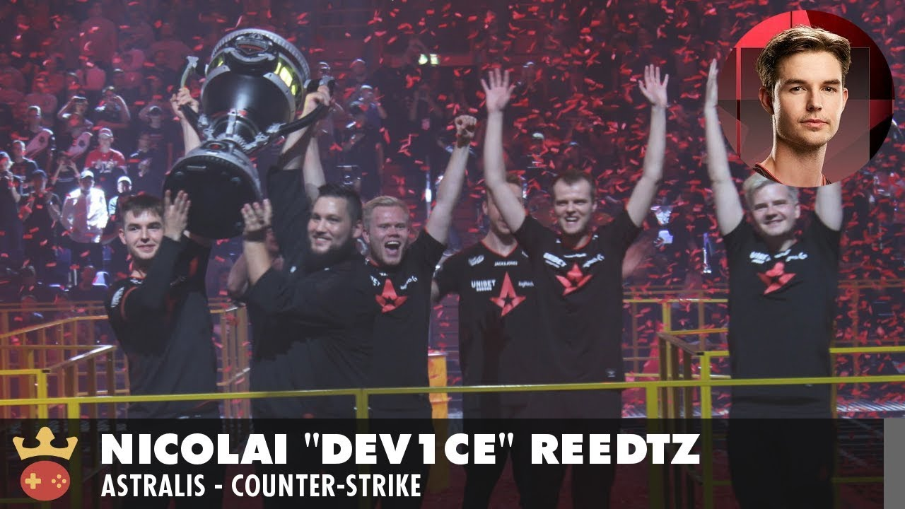 Video of Interview with Astralis' device at the StarLadder Berlin Major 2019