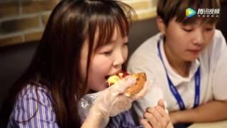 Первая видеореклама Dodo Pizza в Китае, г.Ханчжоу