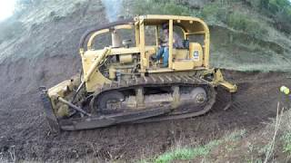 How to Operate a Caterpillar D6C