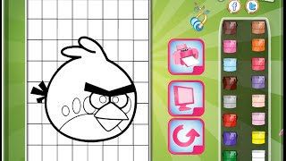 Angry Birds Coloring Pages For Kids - Angry Birds Coloring Pages