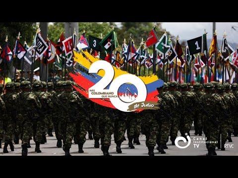 #EnVivo Desfile Militar y Policial del 20 de julio ¡Conecte con Canal Institucional!