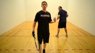 Instantly Improve your Racquetball game with the Quadrant System
