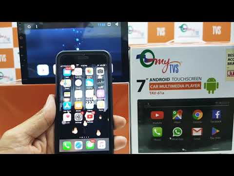 How to Mirrorlink Android phone with TAV-61A or A2