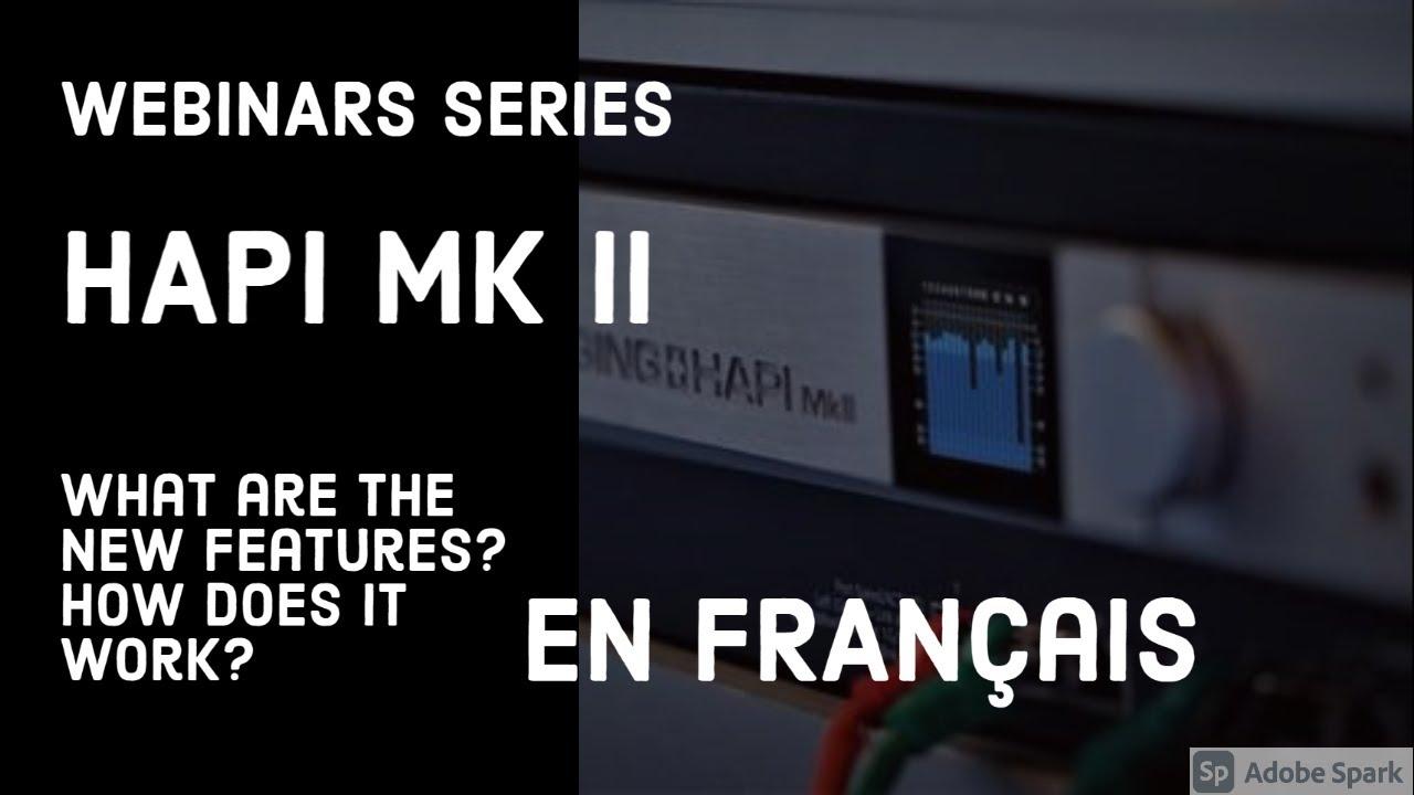 Hapi MkII est maintenant disponible - quelles sont les nouveautés?