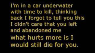 Car Underwater Lyrics  Armor for Sleep