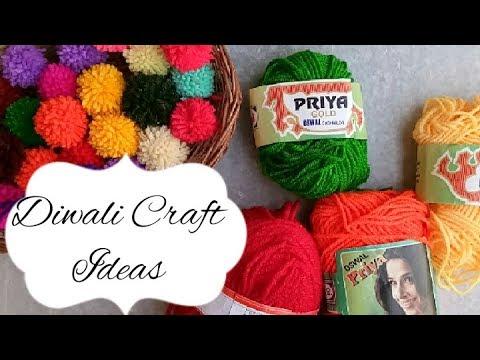 Diya Decoration Ideas Easy Diya Decoration Diwali Craft Ideas