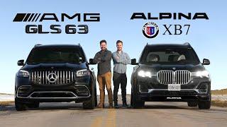 [Throttle House] 2021 Mercedes-AMG GLS 63 vs BMW Alpina XB7 // $175K Performance Monsters Face Off