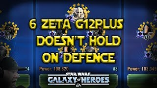 General Grievous Doesn't Hold On Defense - Star Wars: Galaxy of Heroes - SWGoH