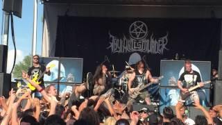 Thy Art Is Murder - Holy War live in Phoenix, Arizona Mayhem Fest 2015