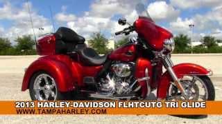 New 2013 Harley Davidson Tri Glide Trike 3 wheeled Motorcycle for sale
