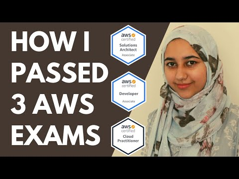 How I Passed 3 AWS Exams in 3 Months 2020 - YouTube