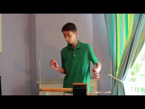 The theremin is notorious for being difficult to play but this kid makes it sound extremely beautiful