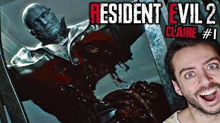¡CÓMO MATAR A TYRANT MUCHO ANTES DEL FINAL! | Resident Evil 2 Remake | Claire Redfield