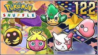 Simisage  - (Pokémon) - Pokémon Shuffle S Rank 122 - SMOOCHUM & KABUTO TROLL D': | ZANGOOSE & LUVDISC