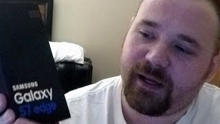 Unboxing a Samsung Galaxy S7 Edge with Bobby Jr