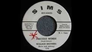 Wallace Brothers - Precious Words 1964