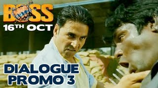 Boss Ka Khoon Bolta Nahi Kholta Hai - Dialogue Promo 2 - Boss