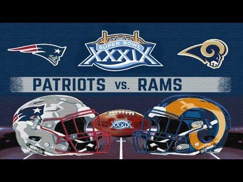 Madden NFL 2005 PS2 2019 New England Patriots Ep.7 (Super Bowl vs Rams. BRUH!)