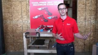 Milwaukee M18 Metal Cutting Cordless Shears 18 Gauge & 14 Gauge