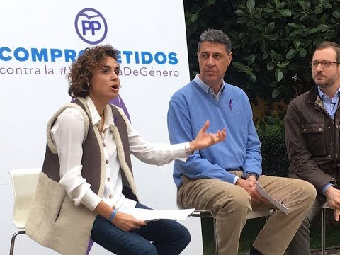 Dolors Montserrat: ''Los hombres y mujeres del PP estamos siempre comprometidos con la convivencia y la unidad''