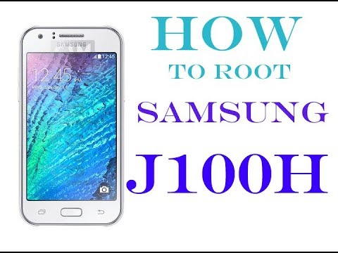How to Root Samsung Galaxy J1 SM-J100H (2015) with Computer
