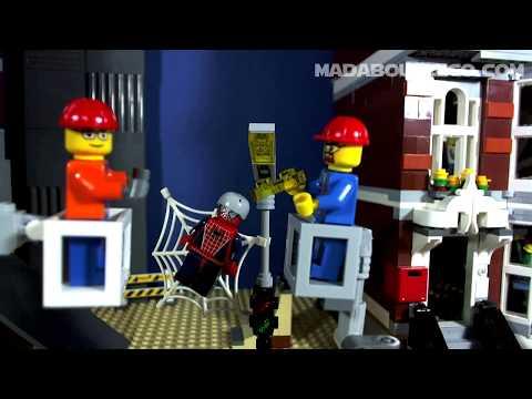 Vidéo LEGO City 60054 : Le camion de réparation