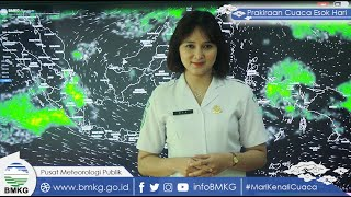 Prakiraan Cuaca Kamis14 Oktober 2021, 22 Wilayah Ini Berpotensi Terjadi Cuaca Ekstrem