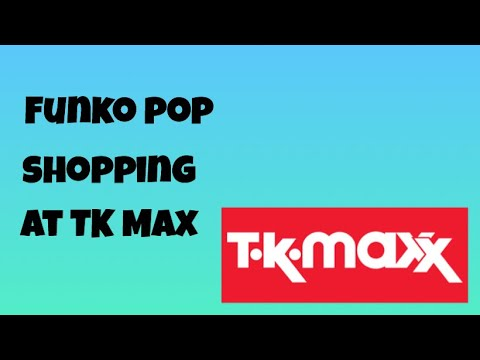 Funko Pop Shopping At TK Max