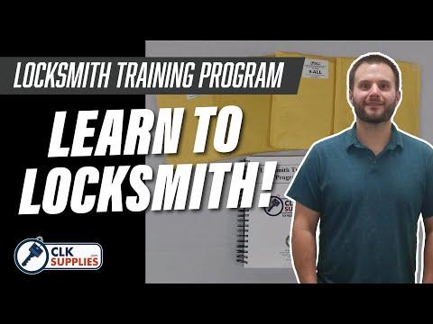 The Locksmith Training Program - Learn to Locksmith! - YouTube