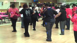 """Let's Get It Poppin'"" Soul Line Dance"