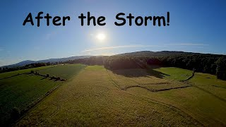 Clear sky after the storm #fpv #drone