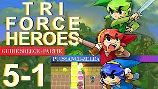 Soluce Tri Force Heroes : Niveau 5-1